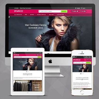 Picture of Roasted Sparkzz NopCommerce Bootstrap Responsive Theme