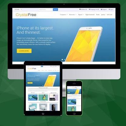 Picture of Roasted Crystal Free NopCommerce Bootstrap Responsive Theme